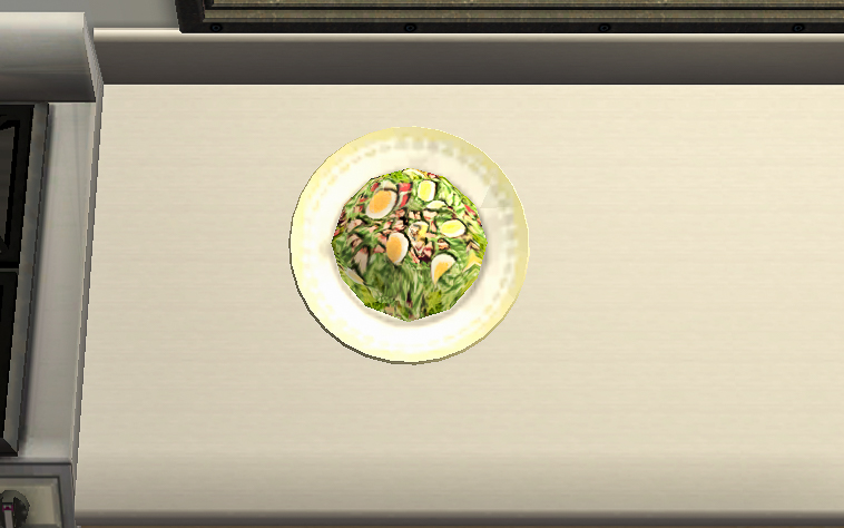 Chef's Salad screenshot from The Sims 2.
